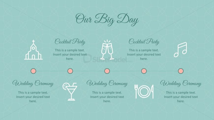 Cocktail Wedding Powerpoint Templates - Slidemodel