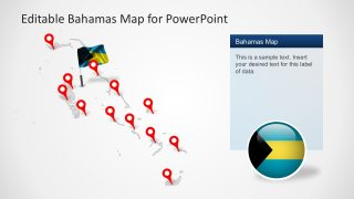 Editable Bahamas Template Map Set