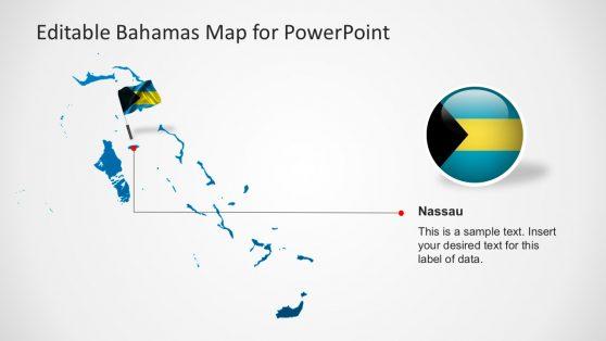 Nassau Bahamas Template Slide