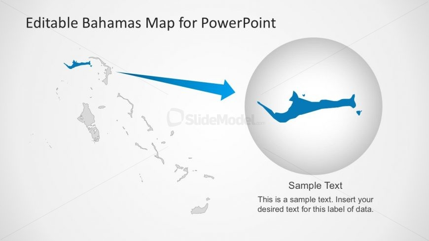Editable Map Slide Templates for PowerPoint