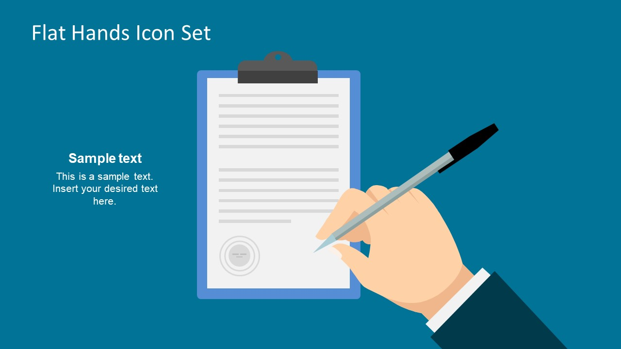 Clipboard Report Signing Template