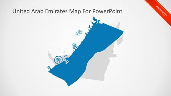 Animated UAE Business Map