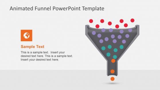 4-Level Funnel Diagram Presentation