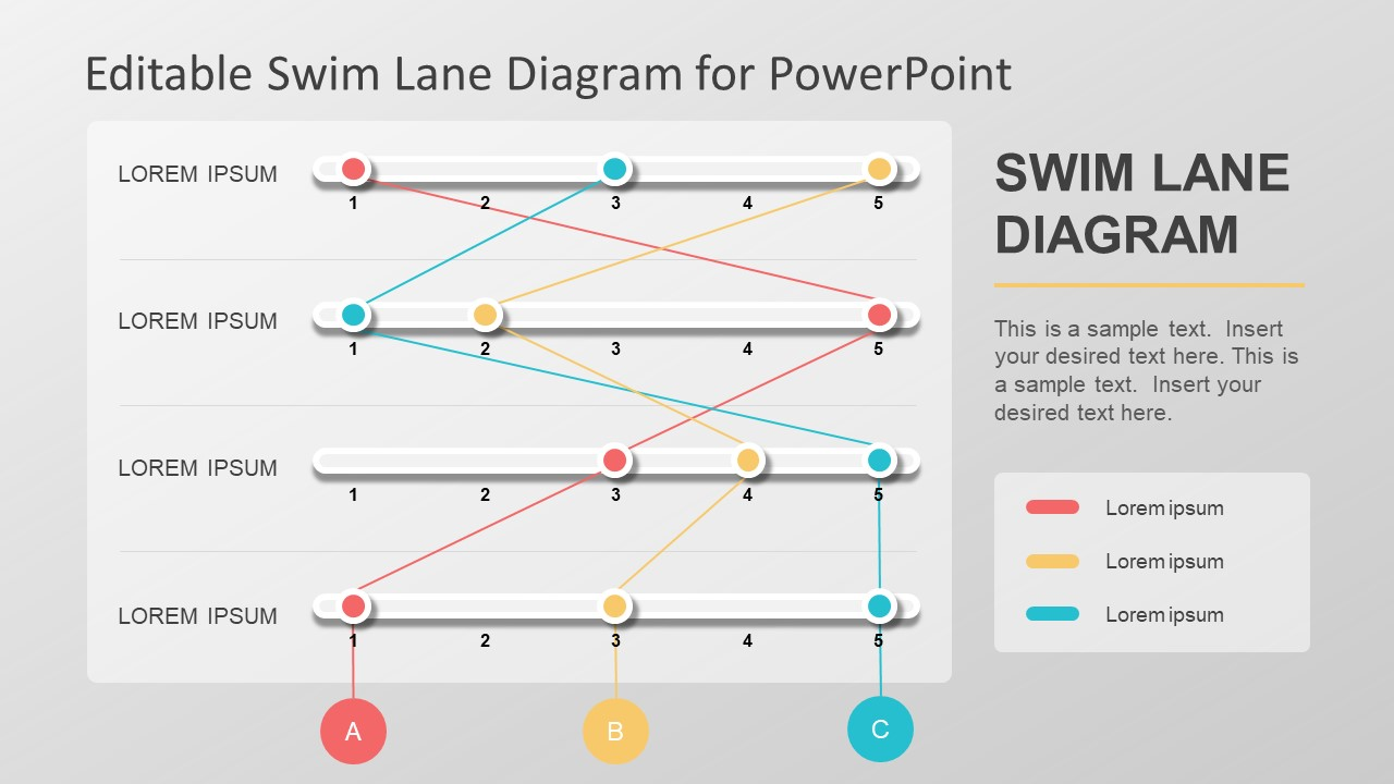 swim line diagram template