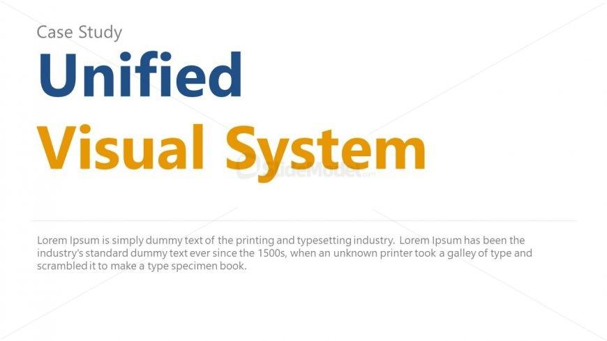 Visual System Case Study Slide