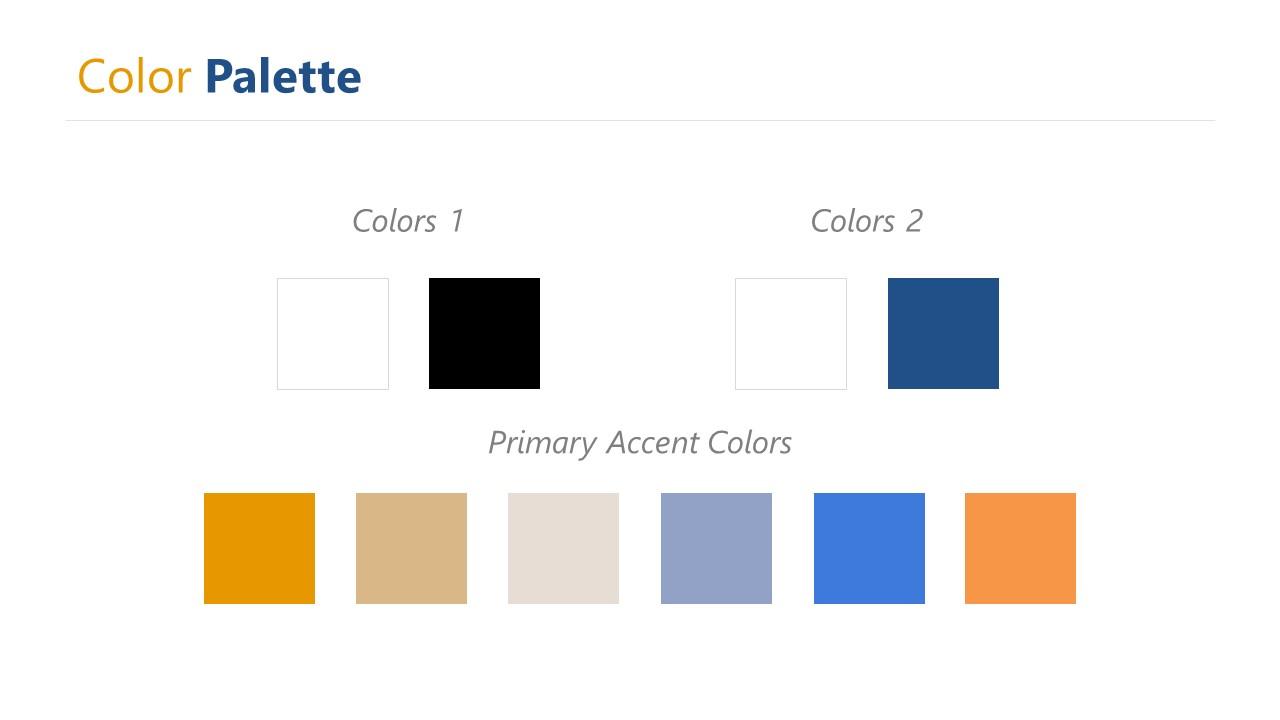MasterDoc PowerPoint Colors Slide