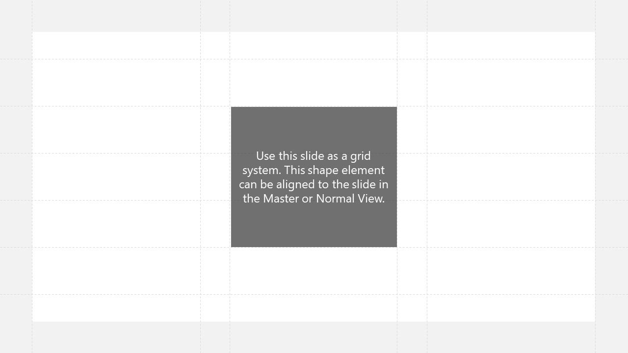 Slide of Grid Layout