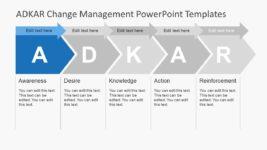 5 Step Arrow PowerPoint Clipart