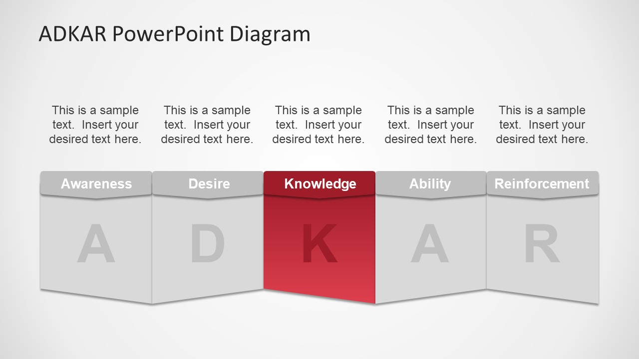 Knowledge Segment PowerPoint Diagram Shapes