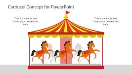 Carousel Concept Diagram Template