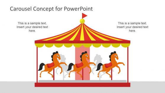 Editable Horse PowerPoint Shapes