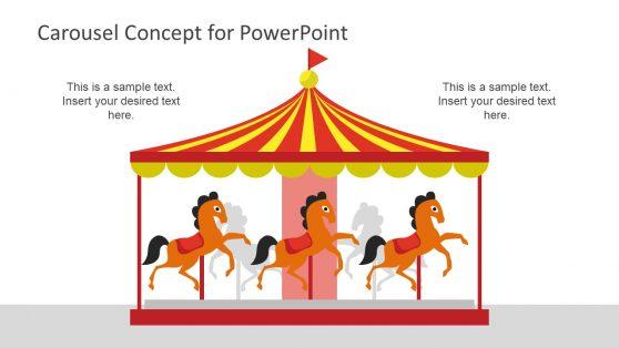 Carousel Concept PowerPoint Diagram