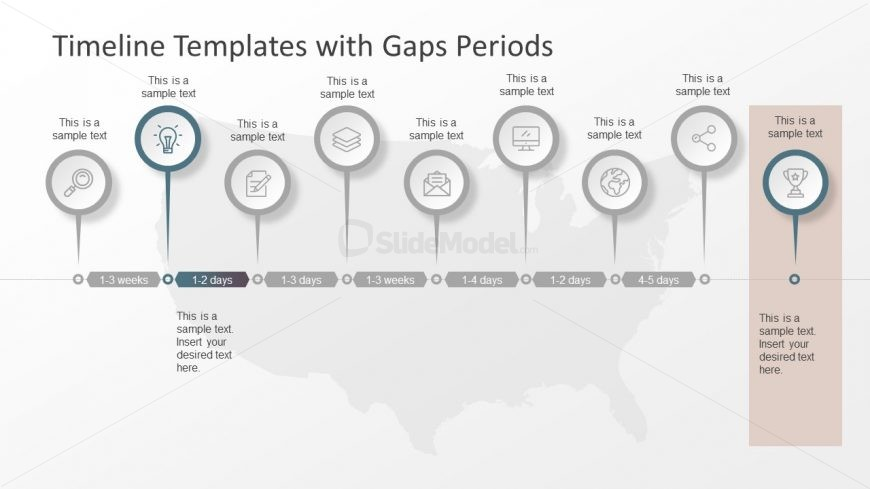 Microsoft powerpoint timeline template slidemodel for Ms powerpoint timeline template
