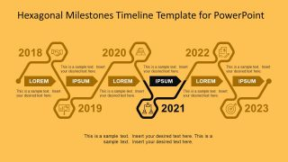Bright Background for Milestone Presentation