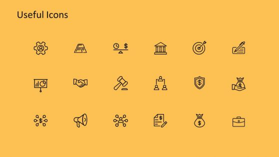 Flat Vector Timeline Clipart Icons