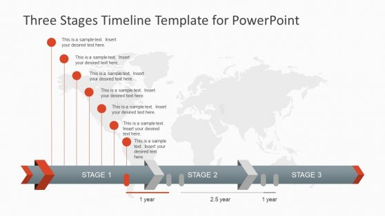Timeline Maker Template PPT