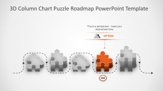 Roadmap Timeline and Planning Puzzle Shape
