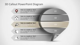 Conceptual Presentation with 3D Shape Template