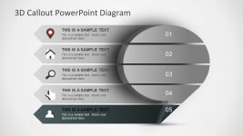 Editable PowerPoint 3D Diagram