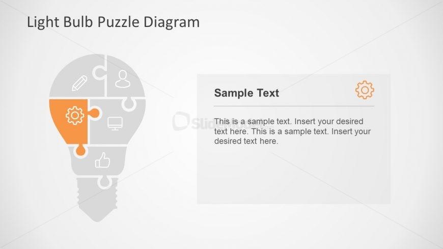 Infographics of Five Segment Puzzle