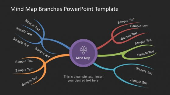 Mind Map Diagram for PowerPoint