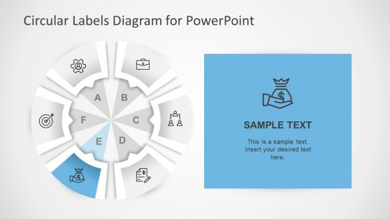 Business Presentation of Circular PowerPoint