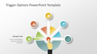 5 Segment PowerPoint for Decision Making