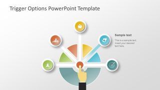 PowerPoint Template of Trigger Options