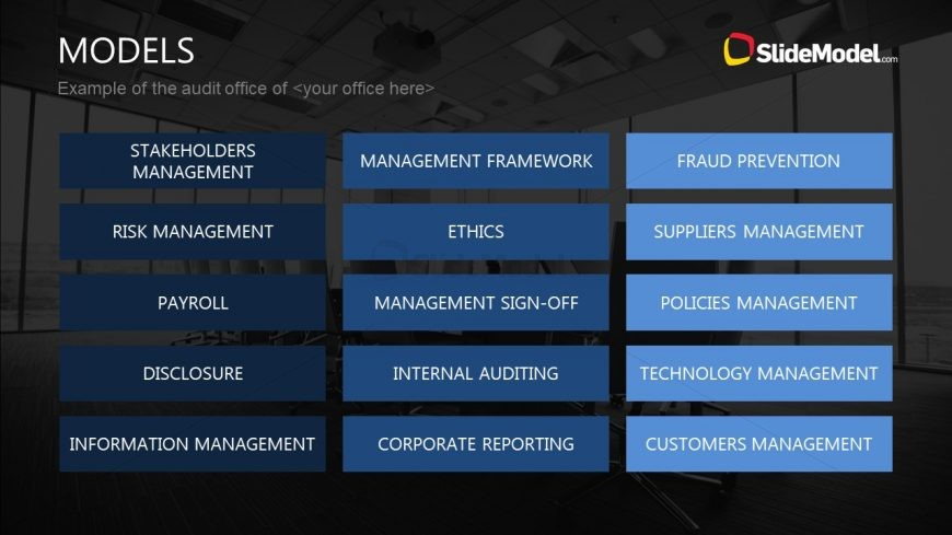 Slide of Management Segments