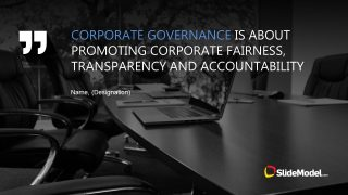 PPT Corporate Governance  Quote