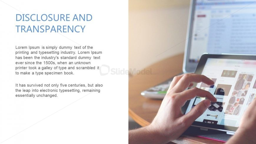 2 Content PowerPoint Slide Design