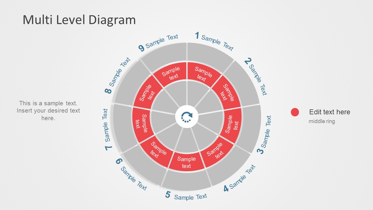 Circular Phase PowerPoint Diagram Template