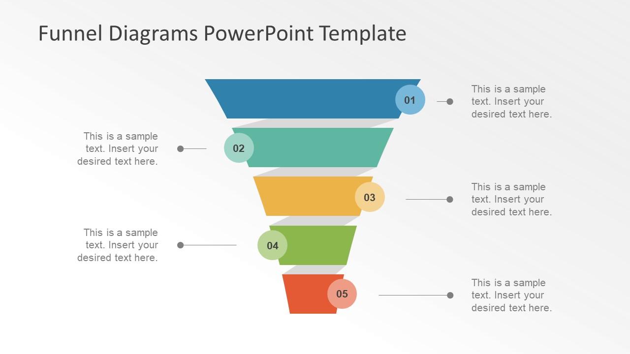 Diagram Design of Shadow Effect in PowerPoint