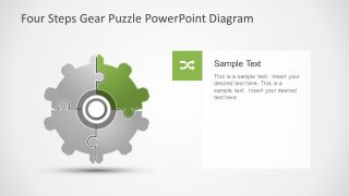 Gear Wheel Setting Metaphor Template