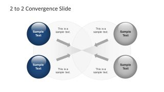 Convergence Metaphor Slides PowerPoint Templates