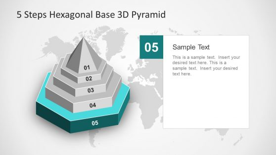 Editable Presentation Diagram Pyramid Shape