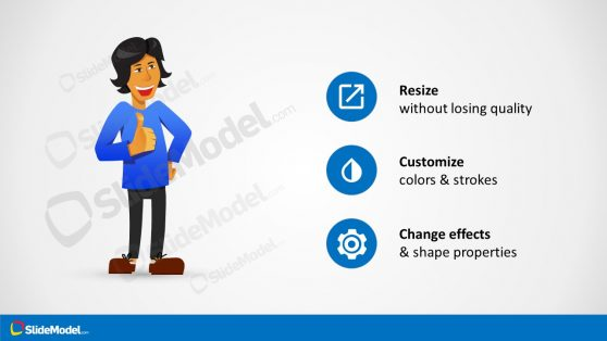 Casual Presentation Cartoon Clipart