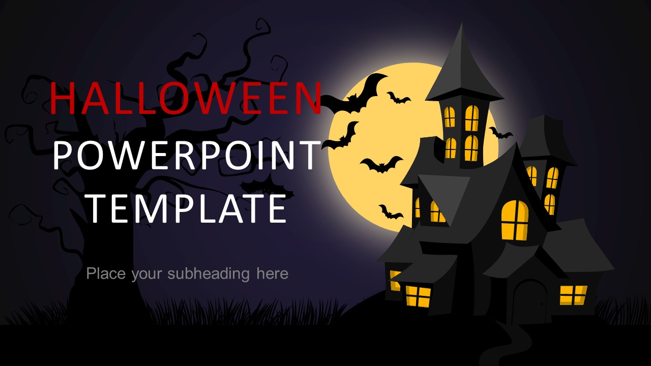 Halloween powerpoint template 2018 slidemodel halloween powerpoint template 2018 alramifo Choice Image