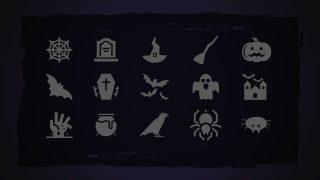 Halloween Theme PowerPoint Icons