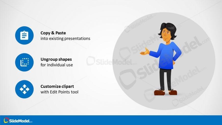 Customizable PowerPoint Template Cartoon
