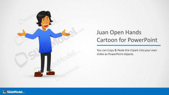 Cartoon Character Clipart Juan PPT