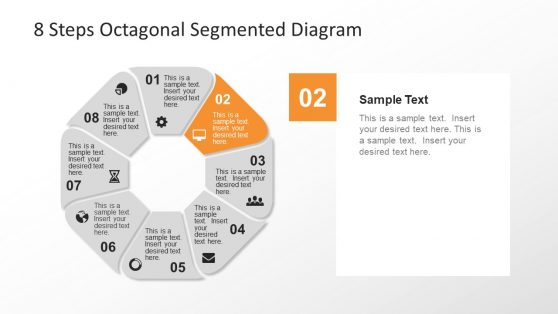Rounded Segmented PowerPoint Diagram