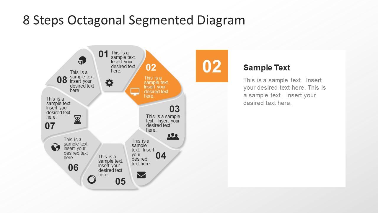 Eight Segment Octagonal Presentation
