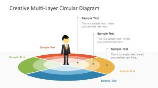 Creative Multi-layer Diagram for PowerPoint