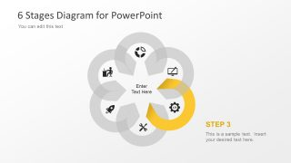 Flower Design PowerPoint Diagram