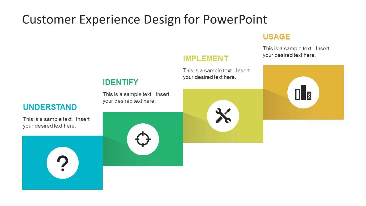 4 steps powerpoint customer journey slidemodel. Black Bedroom Furniture Sets. Home Design Ideas