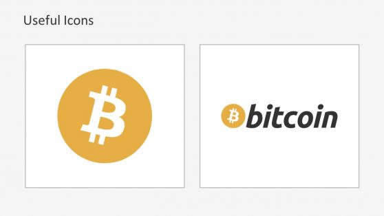 Bitcoin Currency Symbol PowerPoint