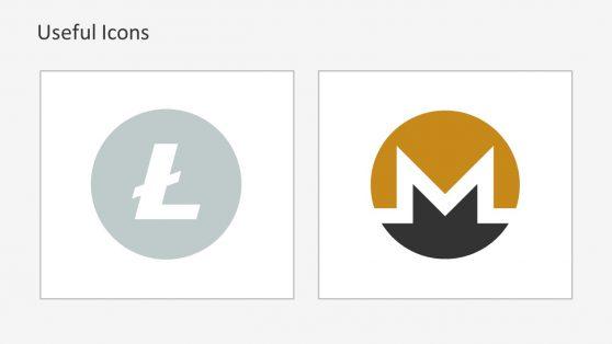 Litecoin and Monero Comparison Slide