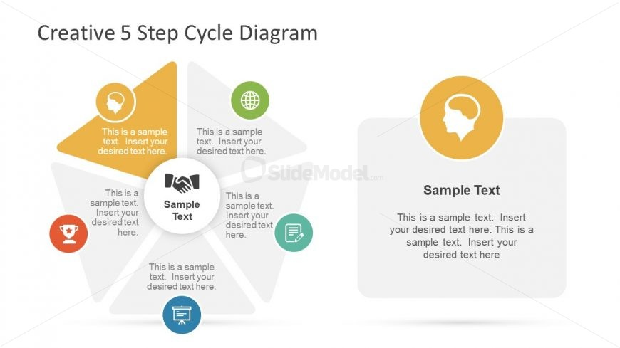 Cool Infographics Template of Editable Shapes