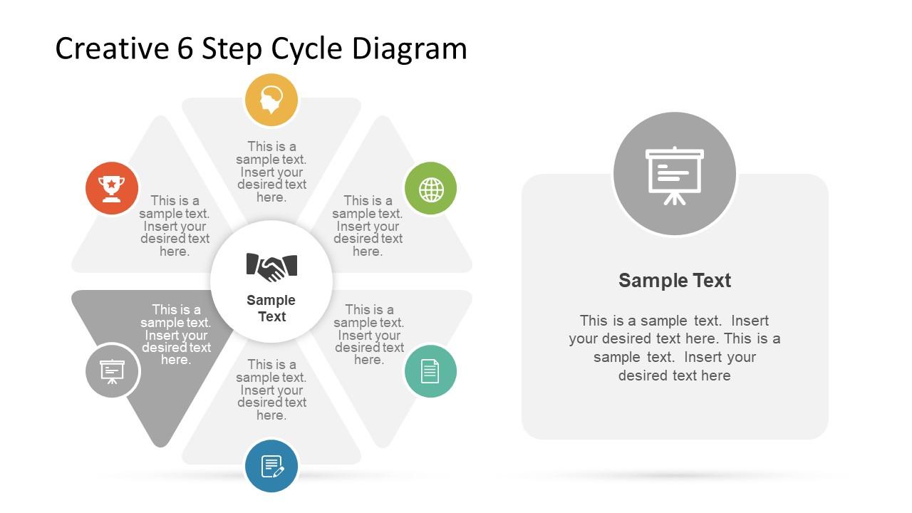 Business PowerPoint Circular Diagram